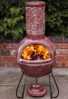 Ornate Mexican Chimnea