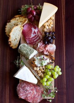 Cheese board spread example 1
