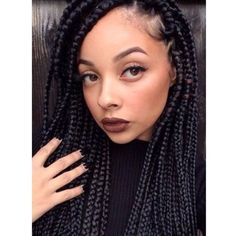 Sucre Couture — Don't know who she is… But these #boxbraids are...