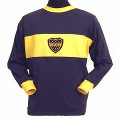 Boca Juniors 1960s Retro Football Shirt #calcio #sport #selected2013 #argentina #vintage