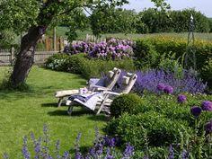 Ein gut gelungenes Gartenkonzept! Der perfekte Garten   Zuhausewohnen
