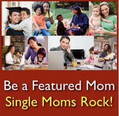 Are you a single mom who rocks? Be a Single Moms Rock Featured Mom. Do you know a rockin' single mom? Nominate them to be a featured single mom for the 2013 Single Moms Rock Wall of Recognition! Single Moms, Rock Wall, Raising Boys, Did You Know, Rocks, Challenges, Life, Raising A Boy, Stone