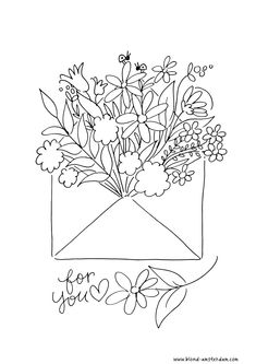 Floral Embroidery Patterns, Modern Embroidery, Hand Embroidery, Blond Amsterdam, Disney Coloring Pages, Watercolor Fashion, Embroidery Techniques, Cross Stitch Patterns, Sewing Crafts