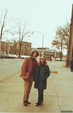 Bill clinton hillary vintage photo