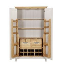 M Padstow Large 2-Door Larder Unit £1499 - possibly for kitchen instead of built in larder?