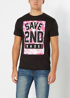 Save 2nd Base Tee | rue21