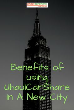 UhaulCarShare allows you the freedom & convenience of getting to know your new city at an affordable rate! Get out, drive and discover your new home! Click through to read up on the benefits of using car sharing in a new city. New City, Getting To Know You, Apartment Living, Knowing You, Benefit, Freedom, Car, Liberty, Political Freedom