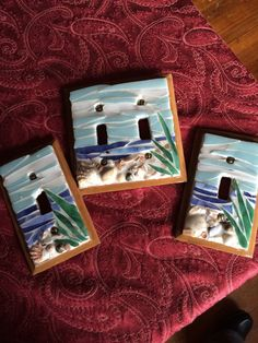 3 piece light switch covers by ArtchicMosaics on Etsy