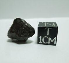SAU 001 meteorite, early recovery whole stone, 2.13 grams - www.galactic-stone.com - #meteorite #meteorites #space #asteroid #planetaryscience #meteoritics