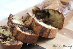 Nutella Bananna Bread - so.. i just made this - it looks wonderful! - can't wait to taste it!!!