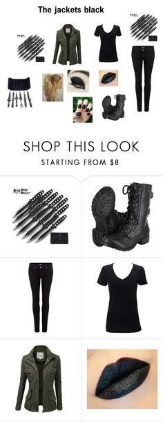 """""""The Hunger Games"""" by theavengers353 ❤ liked on Polyvore featuring Soda, Paige Denim, Simplex Apparel and J.TOMSON"""