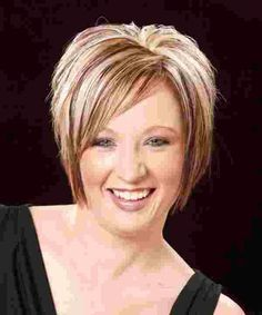 The best collection of Short Bobs Latest and best Short Bob Hairstyles, Bob Haircuts, Bob Hairstyle Trends for Hairstyles For Fat Faces, Inverted Bob Hairstyles, Short Hairstyles For Women, Straight Hairstyles, Cool Hairstyles, Short Haircuts, Layered Hairstyles, Hairstyle Short, Ponytail Haircut