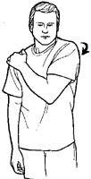 HOMBRO DOLOROSO (Tendinitis del manguito de los rotadores/ Síndrome de pinzamiento/ Bursitis subacromial. Clínica de Artrosis y Osteoporosis www.clinicaartrosis.com PBX: 6836020 Manga, Vegan, Physical Therapy, Shoulder Exercises, Stretching Exercises, Stretches, Knee Pain, Rotator Cuff, Frozen Shoulder