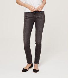 Loft Fall 2015 Petite Modern Skinny Jeans in Iron Grey Wash