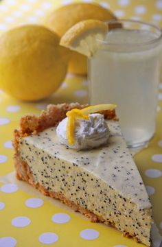 Poppyseed Refrigerator Torte.  YUM!  via lost recipes found:vintage recipes revived.
