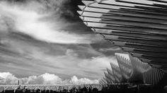 reggio emilia alta velocità - Cerca con Google Santiago Calatrava, Reggio Emilia, Opera, Art Exhibitions, Clouds, Artwork, Photography, Outdoor, Google