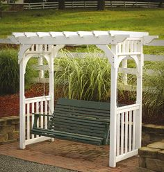 amish arbors and trellises | Green Lawn and Patio Furniture Comfo- Back Series Green Living