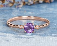 HANDMADE RINGS & BRIDAL SETS by MoissaniteRings on Etsy Amethyst, Sapphire, Bridal Ring Sets, Handmade Rings, Etsy Seller, Trending Outfits, Unique Jewelry, Engagement Rings, Vintage