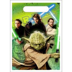 Star Wars Party Goody Bags - Star Wars Treat Sacks - 8 Count $2.19 (save $3.80)