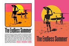 Poster for Bruce Brown's classic surf film The Endless Summer - John Van Hamersveld