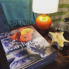 Don't you just love pretty coffee table books? We sure do and the cover of this Charlotte Moss book makes us happy! #tfssi #stsimons #seaisland #prettybooks #inspiration #color