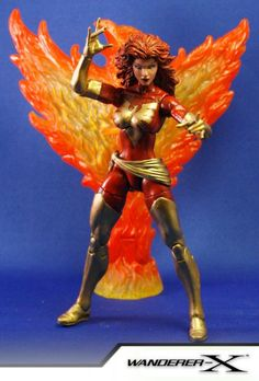 Dark Phoenix (Jean Grey) (Marvel Legends) Custom Action Figure