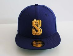 New Era 5950 -Seattle Mariners 1987-91 COOP CLASSIC - MLB Baseball Cap Hat | eBay