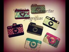 DIY - Como hacer Camaras fotográficas de papel *Creaciones Izzy - YouTube