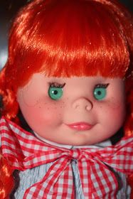 Today's doll is a recent internet win. She's Teresa. Teresa was made by Furga in I keep referring to her as 'Ter-eeee. Nancy Doll, Vinyl Dolls, Antique Dolls, Barbie, Disney Princess, Day, Youth, 1970s, Redheads
