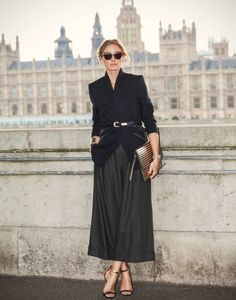 Olivia Palermo , do it always right  London Fashion Week SS15 - Stella McCartney