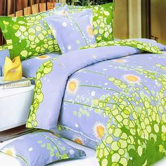 Blancho Bedding Dandelion Dream 100 Cotton Mini Duvet Cover Set Twin S Full Size Comforter, King Size Comforters, Comforter Cover, Duvet Bedding, Bed Duvet Covers, Pillow Shams, Girl Bedding, Blue Bedding, Cotton Bedding