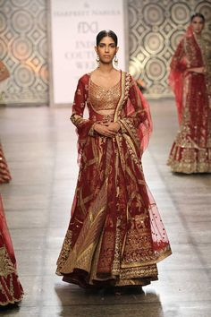Rimple & Harpreet Narula at India Couture Week 2016 Pakistani Wedding Outfits, Indian Bridal Outfits, Indian Bridal Lehenga, Indian Dresses, Bridal Dresses, Lehenga Choli, Anarkali, Sarees, Sabyasachi