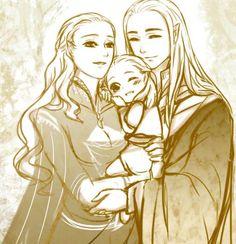 Mirkwood Family by AviHistten.deviantart.com on @DeviantArt