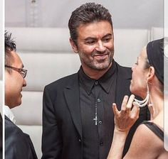 So classy and gorgeous xx Beautiful Voice, Most Beautiful Man, George Michael Died, Andrew Ridgeley, Careless Whisper, Dimples, Record Producer, Music Is Life, Sexy Men