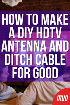 Diy Tv Antenna, Tv Without Cable, Cable Tv Alternatives, Free Tv And Movies, Tv Hacks, Iphone Information, Computer Diy, Iphone Life Hacks, Technology Hacks