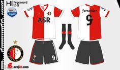 Feyenoord | home jersey | 2012-13
