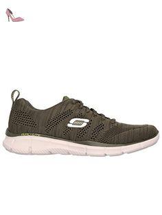 Skechers Synergy Fine Tune, Sneakers Basses Garçon, Gris (Gris/Rouge), 36 EU (3 UK)