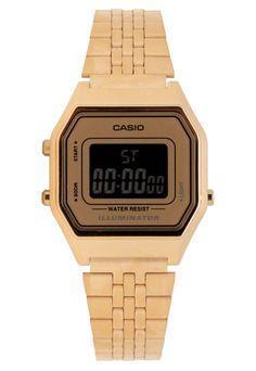 Relógio Casio LA680WGA9BDF Dourado - Compre Agora | Dafiti Brasil