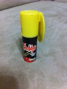 Collectible Topps Brand Freddy's Bubble Gum Dispenser 1989 - Freddy Krueger