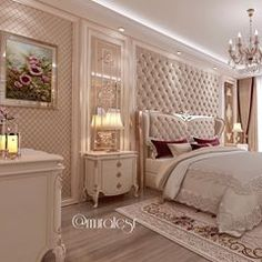 Image may contain: bedroom and indoor Small House Interior Design, Luxury Bedroom Design, Room Design Bedroom, Fancy Bedroom, Bedroom Setup, Bedroom Decor, Modern Bedroom Furniture, Design Case, Dream Rooms
