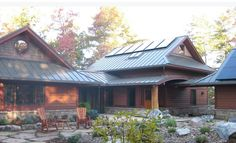 I designed this home with fellow Raleigh architect, Tina Govan. It was built by Ryan McLellan of Copperwood Builders, of Black Mountain, NC, and the. Nc Mountains, Modern Asian, Black Mountain, Minka, Construction, House Design, Cabin, Architecture, House Styles
