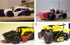 Ilvolo: An Exploding, 3D Printed RC Car from Devin Montes http://3dprint.com/54565/exploding-3d-printed-rc-car/…