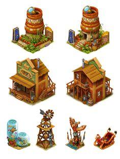 ArtStation - Game assets, Karolina Urbańczyk