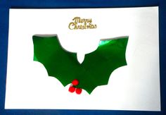 Great Kids crafting activities - Handmade Christmas Cards