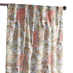 Floral Curtain - Blue Meadow