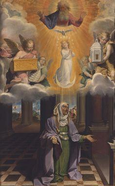 Bartolomeo Cesi (1556-1629), Incarnazione della Vergine in sant'Anna come Immacolata Concezione