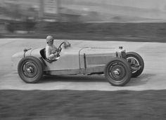 Aunty Kay racing at Brooklands