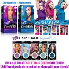 Splat Hair Dye Splat Hair Color Kits For All That Are