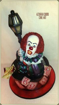 IT The Clown Pennywise Cakes Clown Cake Cake Halloween