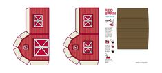 Red Barn Template